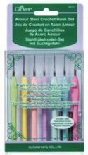 CLOVER AMOUR CROCHET HOOKS SET 0,6-2MM